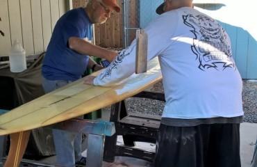 Learning from PapaDog – El Maestro of Surfboard Repairs
